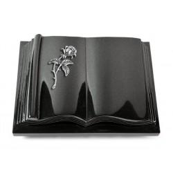 20 Grabbuch Antique/Indisch Black (Alu Rose 2)