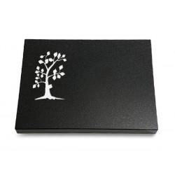62 Grabtafel Indisch Black (Baum 1)