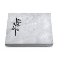 155 Grabtafel Marmor (Kreuz 2)