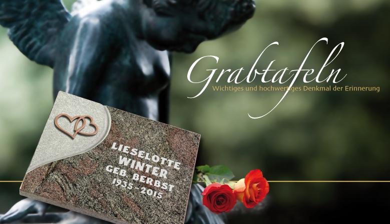 Grabtafeln für Urnengräber