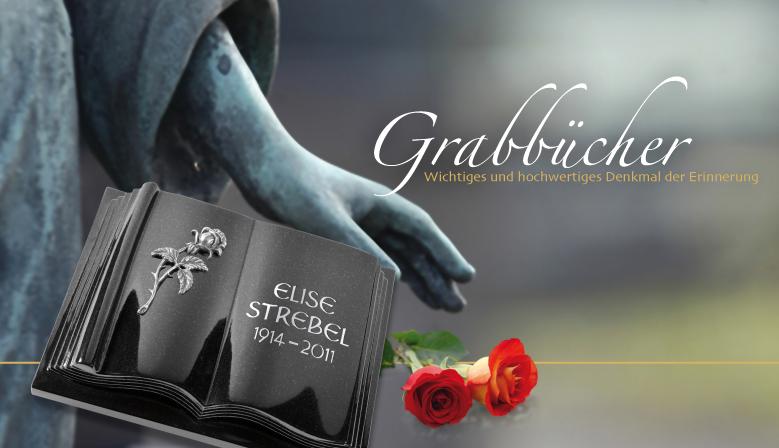 Grabbücher für Urnengräber